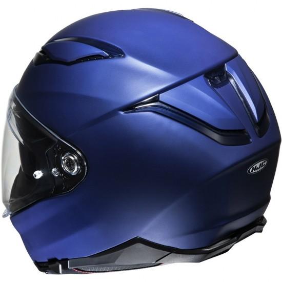 HJC F70 Semi Flat Metallic Blue Full Face Helmet