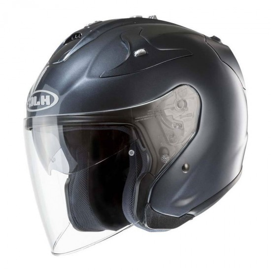 HJC FG-JET Anthracite Open Face Helmet