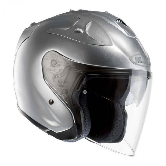 HJC FG-JET Cr Silver Open Face Helmet