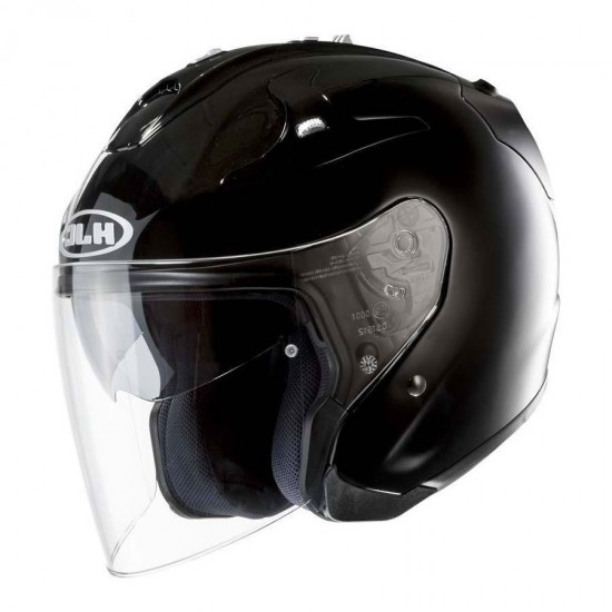 HJC FG-JET Metal Black Open Face Helmet