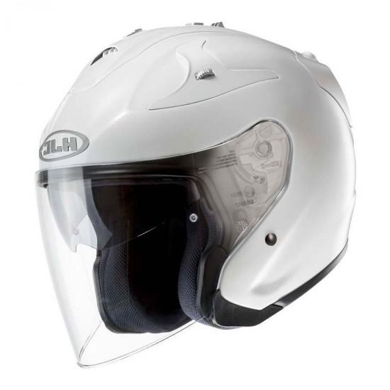 HJC FG-JET Pearl White Ryan Open Face Helmet