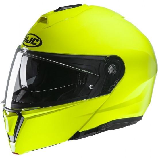 HJC I90 Fluorescent Green Modular Helmet