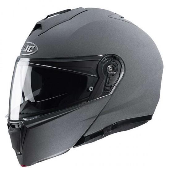 HJC I90 Stone Grey Modular Helmet