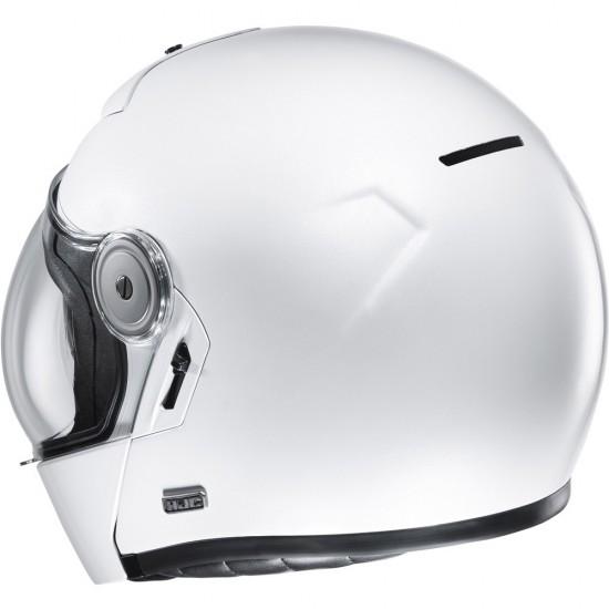 HJC V90 White Modular Helmet
