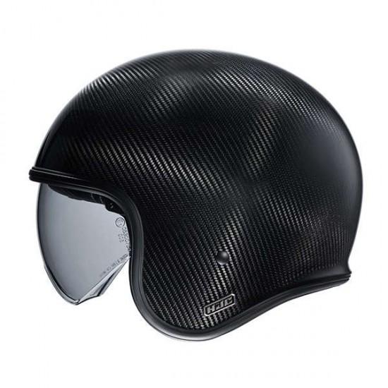 HJC V30 Carbon Black Open Face Helmet