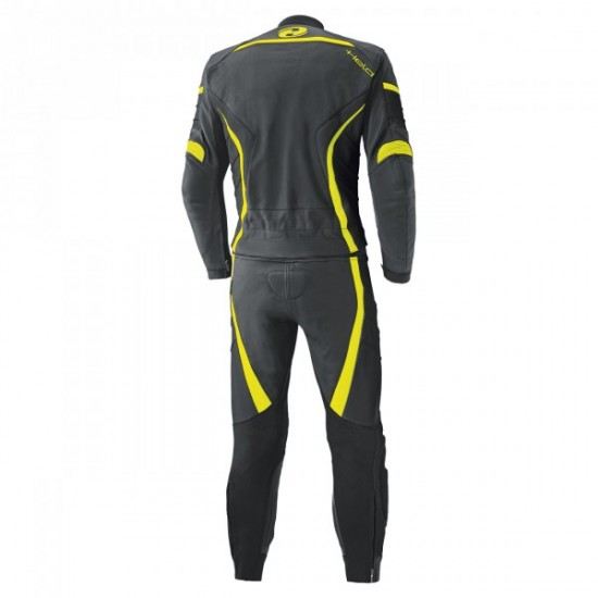 Held Spire 2 Piece Leather Fluo Yellow Suit