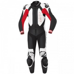 Held Yagusa 2 Piece Leather Black Red Suit