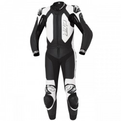 Held Yagusa 2 Piece Leather Black White Suit