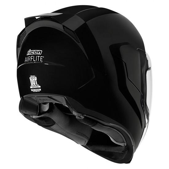 Icon Airflite Gloss Black Full Face Helmet