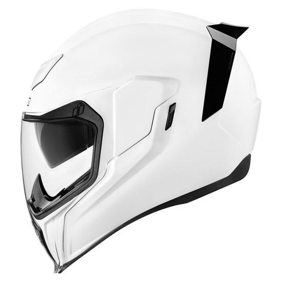 Icon Airflite Gloss White Full Face Helmet