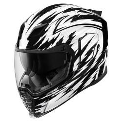 Icon Airflite Fayder White Full Face Helmet