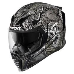 Icon Airflite Krom Silver Full Face Helmet
