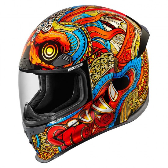 Icon Airframe Pro Barong Red Full Face Helmet