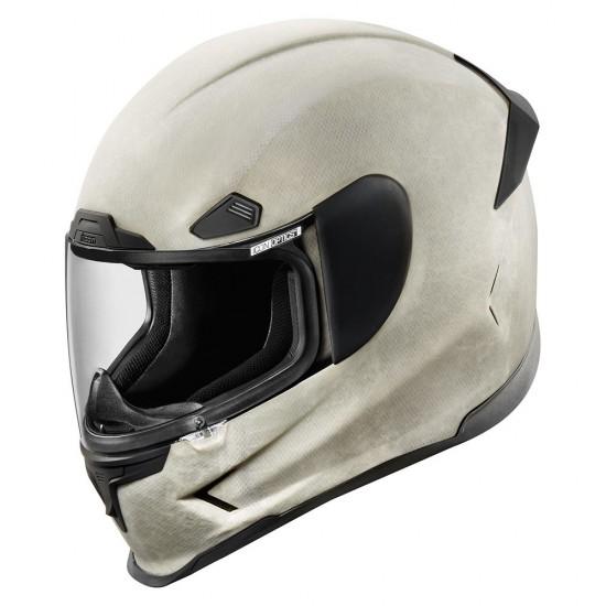 Icon Airframe Pro Construct White Full Face Helmet