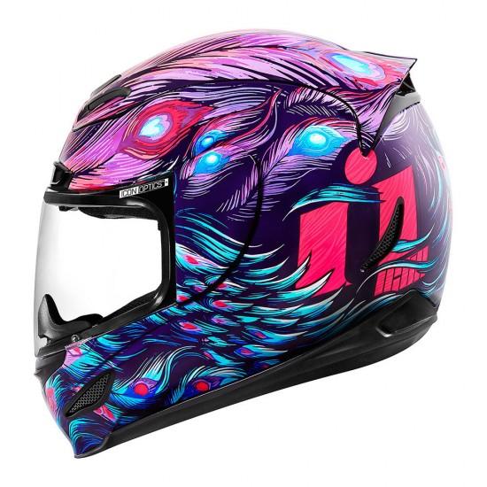 Icon Airmada Opacity Purple Full Face Helmet