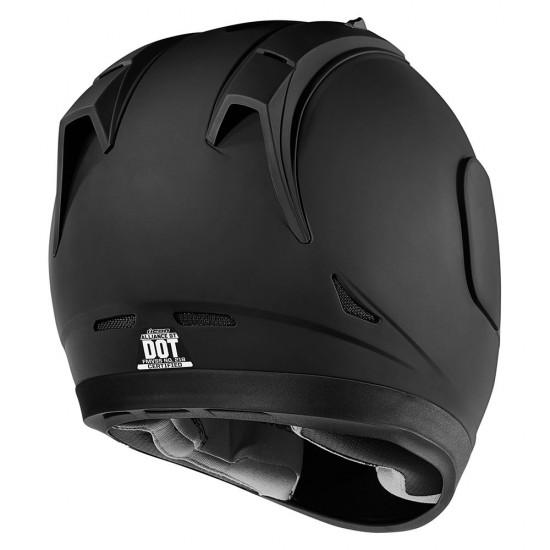 Icon Alliance GT Rubatone Black Full Face Helmet