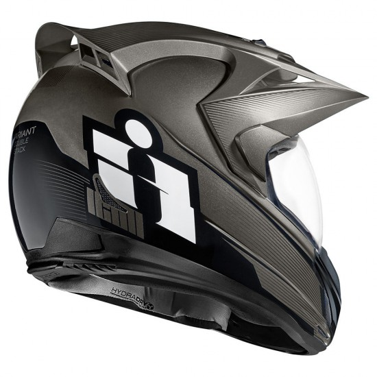 Icon Variant Double Stack Black Full Face Helmet