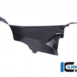 Ilmberger Carbon Air Tube Cover Left Gloss Ducati Panigale V4 / V4 S MPN - WAL.028.DPV4G.K