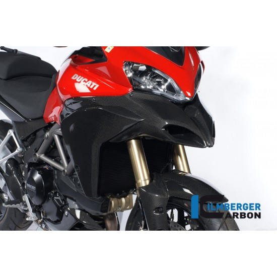 Ilmberger Carbon Airtube Cover Right Ducati Multistrada 1200 MPN - WKR.007.MTS12.K