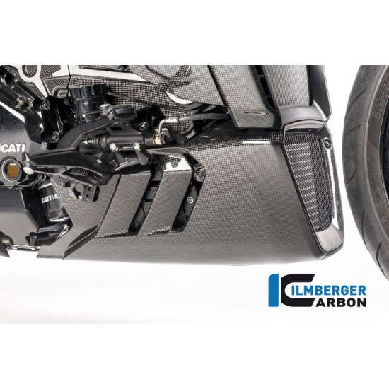 Ilmberger Carbon Belly Pan Right Gloss Ducati XDiavel / XDiavel S MPN - VEU.013.XD16G.K