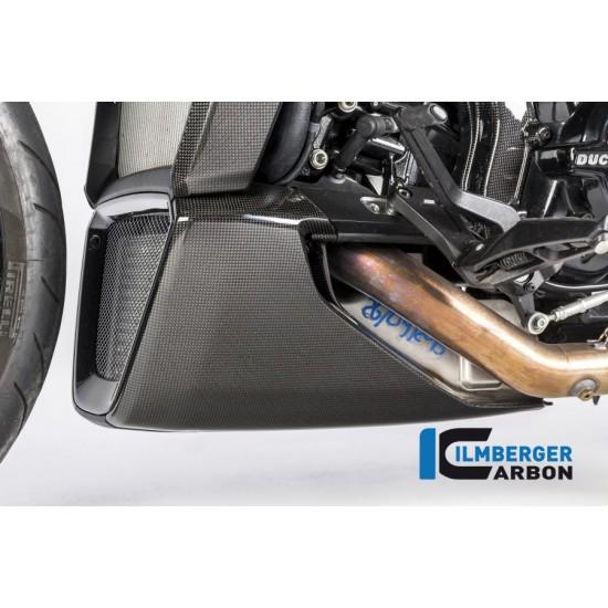 Ilmberger Carbon Belly Pan Left Gloss Ducati XDiavel / XDiavel S MPN - VEU.012.XD16G.K