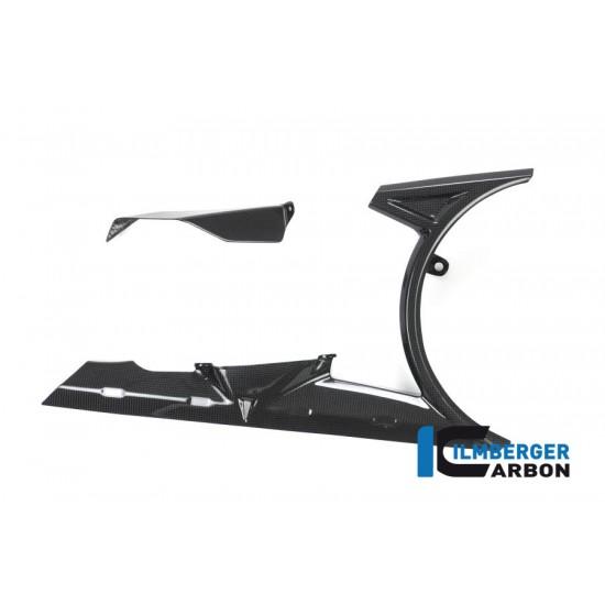 Ilmberger Carbon Belt Guard Kit Gloss Ducati XDiavel / XDiavel S MPN - BAD.019.XD16G.K