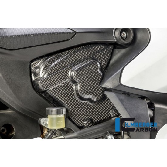 Ilmberger Carbon Cam Cover Right Gloss Ducati 959 Panigale MPN - ZAR.003.P899G.K