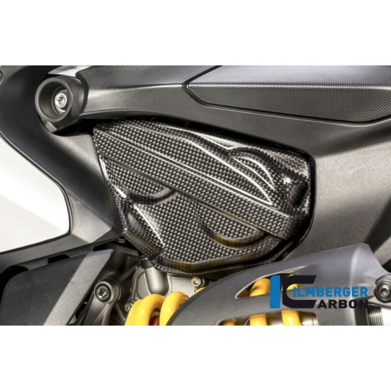 Ilmberger Carbon Cam Cover Right Matt Ducati 959 Panigale MPN - ZAL.004.P899G.K