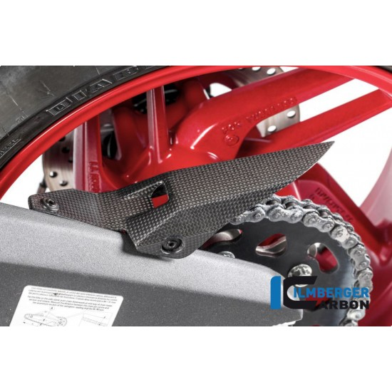 Ilmberger Carbon Chain Guard Swing Arm Matt Ducati 959 Panigale MPN - KEH.102.P899M.K
