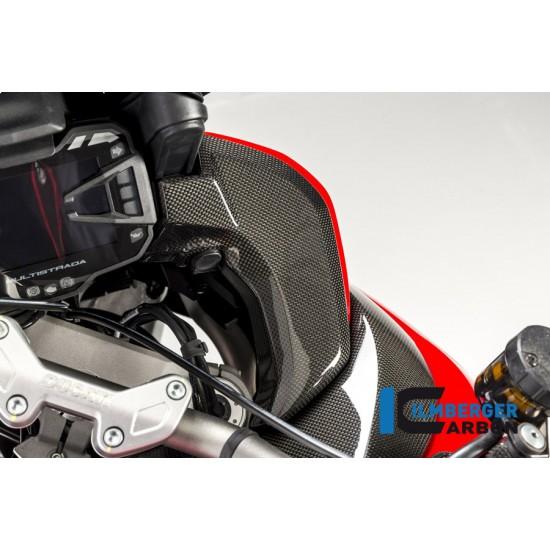 Ilmberger Carbon Cover Instrument Right Gloss Ducati Multistrada 1200 Enduro MPN - CAR.017.D15MG.K