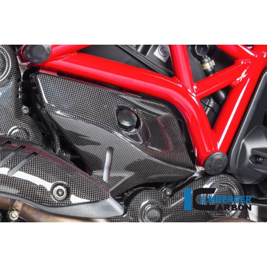 Ilmberger Carbon Cover Under The Frame Right Ducati Monster 821 / 1200 / 1200 S MPN - ARR.006.D12MG.K