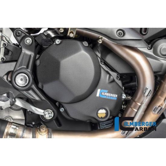 Ilmberger Carbon Engine Guard Right Matt Ducati Monster 1200 MPN - RMD.106.DM17M.K