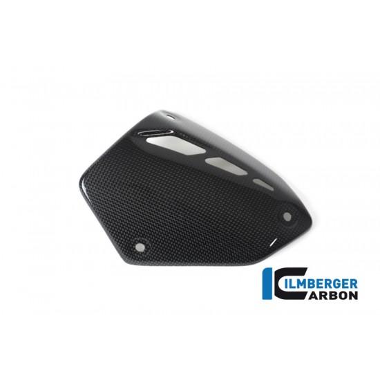 Ilmberger Carbon Exhaust Cover Gloss Ducati Monster 821 MPN - AHS.001.M821G.K