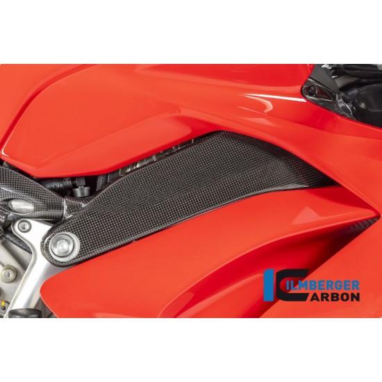 Ilmberger Carbon Frame Cover Right Gloss Ducati Panigale V4 / V4 S MPN - RAR.014.DPV4G.K
