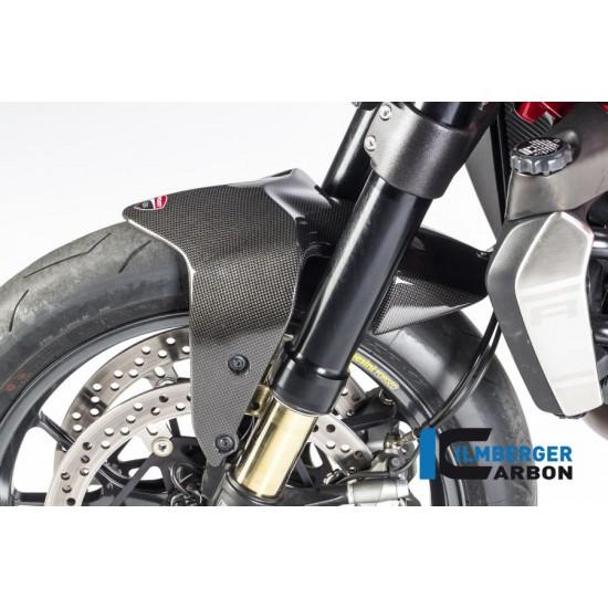 Ilmberger Carbon Front Mudguard Ducati Monster 821 / 1200 / 1200 S MPN - KVO.001.D12MG.K