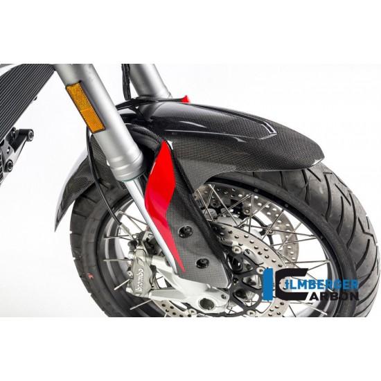 Ilmberger Carbon Front Mudguard Gloss Ducati Multistrada 1200 Enduro MPN - KVO.003.ME16G.K