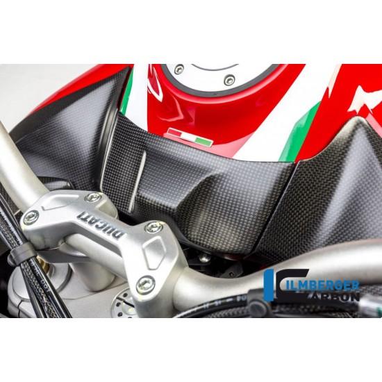 Ilmberger Carbon Ignition Switch Matt Ducati Multistrada 1200 Enduro / 1200 MPN - ZSA.113.D15MM.K