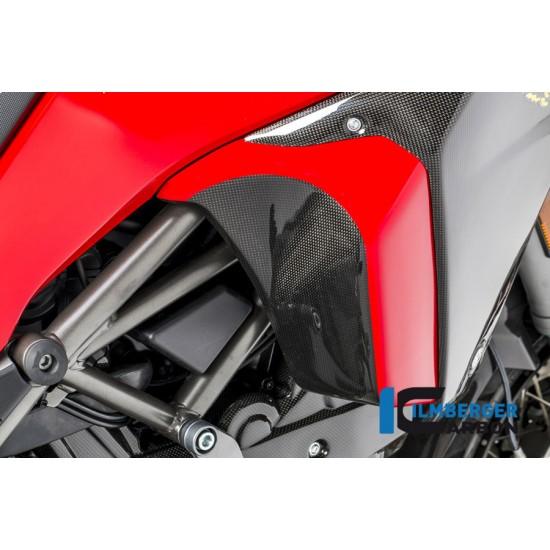 Ilmberger Carbon Inner Fairing Right Gloss Ducati Multistrada 1200 Enduro MPN - IVR.007.ME16G.K