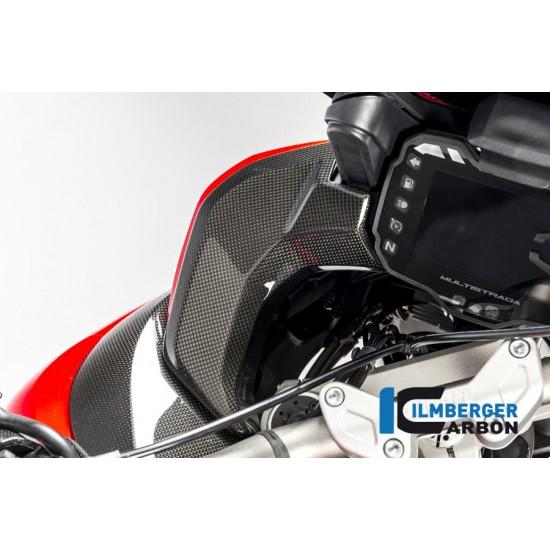 Ilmberger Carbon Cover Instrument Left Gloss Ducati Multistrada 1200 Enduro MPN - CAL.016.D15MG.K