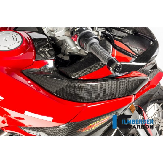 Ilmberger Carbon Tankcover Airchannel Right Gloss Ducati Multistrada 1200 Enduro MPN - TOR.012.D15MG.K