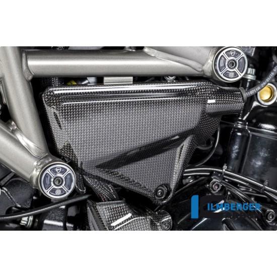 Ilmberger Carbon Under Frame Left Gloss Ducati XDiavel / XDiavel S MPN - ARL.017.XD16G.K