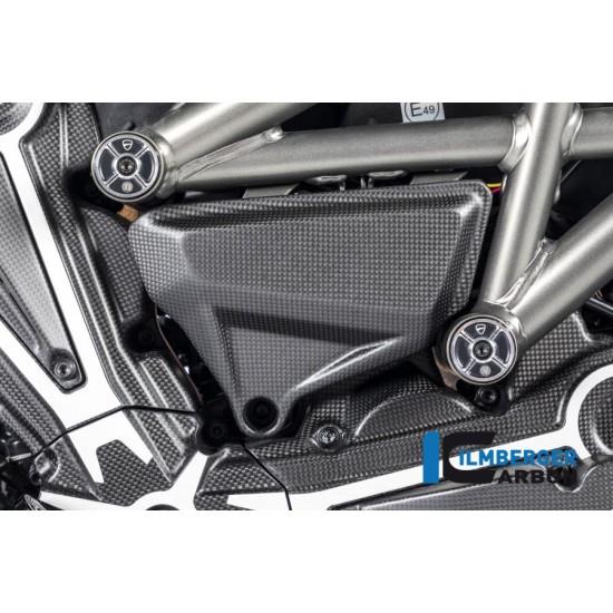 Ilmberger Carbon Under Frame Right Matt Ducati XDiavel / XDiavel S MPN - ARR.118.XD16M.K