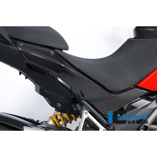 Ilmberger Carbon Underseat Panel Right Ducati Multistrada 1200 MPN - SDR.014.MTS12.K
