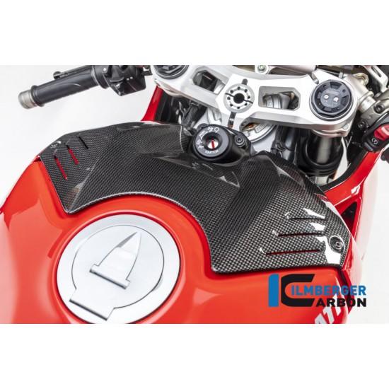 Ilmberger Carbon Upper Tank Cover Gloss Ducati Panigale V4 / V4 S MPN - TAO.006.DPV4G.K