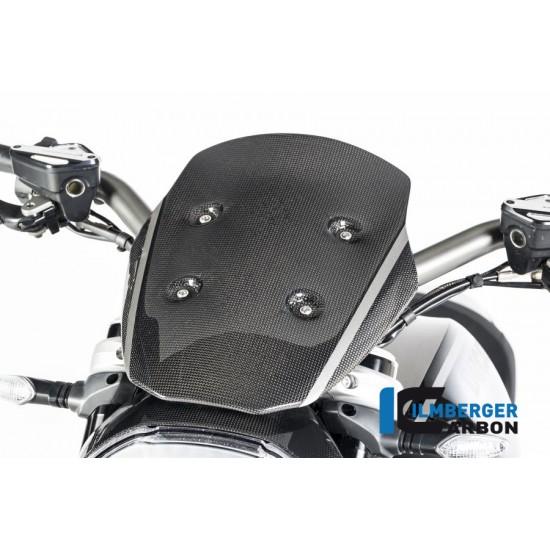 Ilmberger Carbon Windshield Incl. Holder Gloss Ducati XDiavel / XDiavel S MPN - VEO.014.XD16G.K