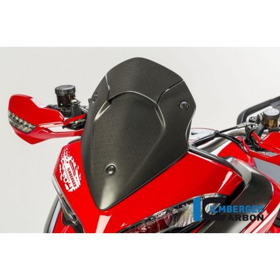 Ilmberger Carbon Windshield Matt Surface Ducati Multistrada 1200 Enduro MPN - VEO.107.D15MM.K