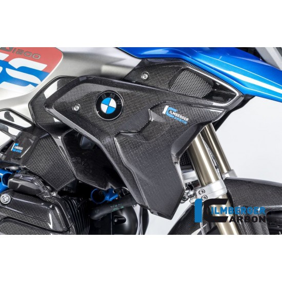 Ilmberger Carbon Airtube Right Side Complete Incl Flap BMW R 1200 GS / Adventure MPN - WKR.002.GS17L.K
