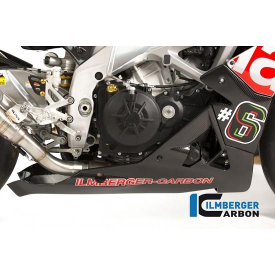 Ilmberger Carbon Bellypan 3 Piece Aprilia Tuono V4 MPN - VEU.001.TUV4S.K