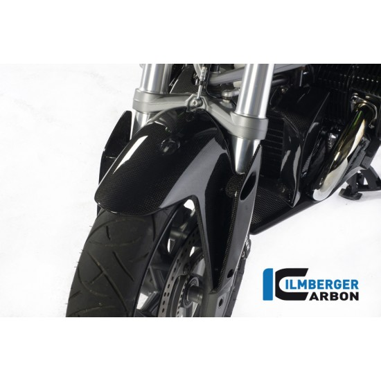 Ilmberger Carbon Wind Flaps On Front Mudguard Set BMW R 1200 R MPN - VFL.012.R120R.K