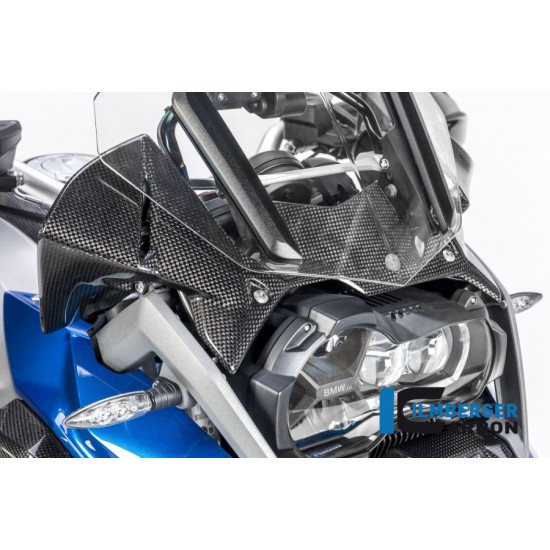 Ilmberger Carbon Windprotector Instruments BMW R 1200 GS / Adventure MPN - WAK.008.GS17L.K